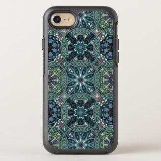 Vintage patchwork with floral mandala elements OtterBox symmetry iPhone 8/7 case
