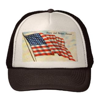 Vintage Patriotic 4th of July Hats