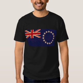 Vintage Pattern Cook Island Flag Tees