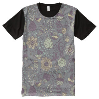 Vintage pattern for stylish wallpapers All-Over print T-Shirt