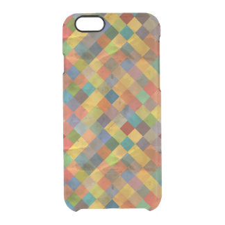 Vintage pattern. Geometric. Clear iPhone 6/6S Case