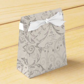 Vintage Pattern Glamour Chic Elegant Party Favor Favour Box
