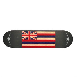 Vintage Pattern Hawaiian Flag Skateboard