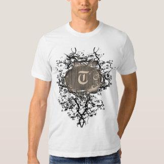 Vintage Pattern with Monogram T Tshirts