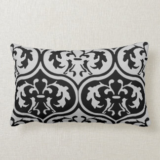 Vintage Patterns Lumbar Pillow