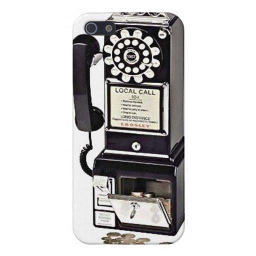 Vintage Payphone iPhone 5 Case