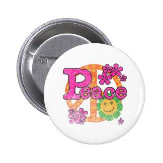 Vintage Peace Button