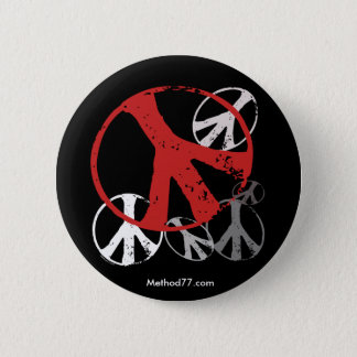 Vintage Peace Button