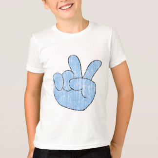 Vintage Peace Sign Hand Shirt