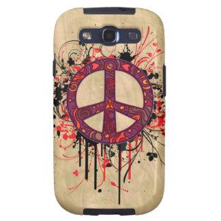 VINTAGE PEACE SYMBOL SAMSUNG GALAXY SIII COVER