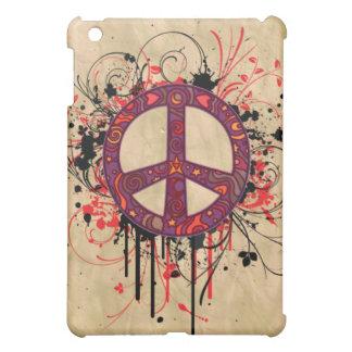 VINTAGE PEACE SYMBOL iPad MINI CASES