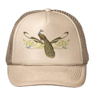 Vintage Peacock Cap