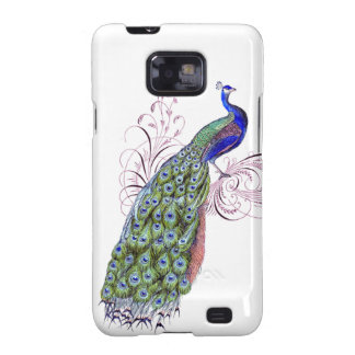 Vintage Peacock Samsung Galaxy S2 Case