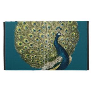 Vintage Peacock iPad Folio Case