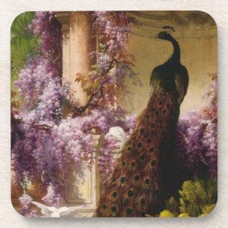 Vintage Peacock Coaster