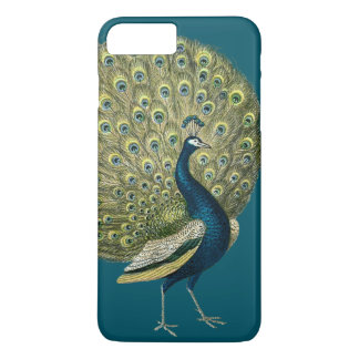 Vintage Peacock iPhone 8 Plus/7 Plus Case
