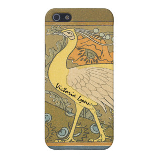 Vintage Peacock iPhone Cover iPhone 5/5S Cover