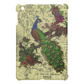 Vintage Peacock on Branch Apparel and Gifts iPad Mini Case