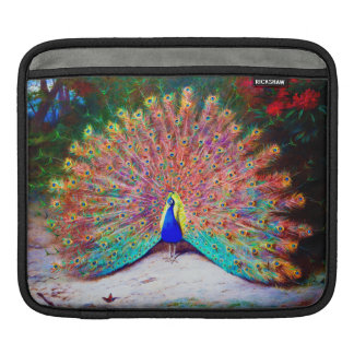 Vintage Peacock Painting Sleeves For iPads