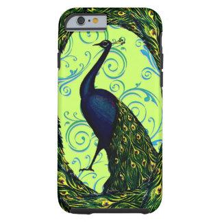 Vintage Peacock Tough iPhone 6 Case