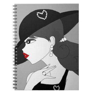 Vintage Pearls Notebook