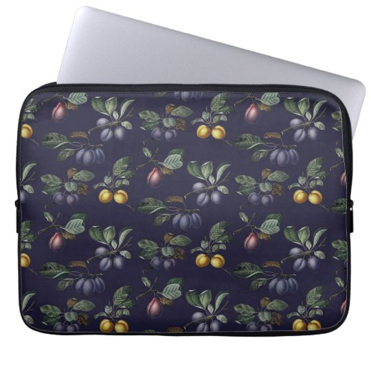 Vintage Pears and Plums Laptop Sleeve