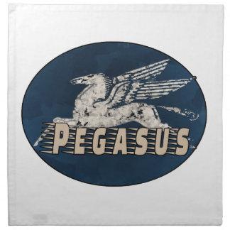 Vintage Pegasus Design Napkin