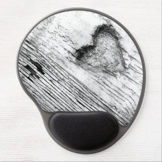 vintage pencil drawied Heart  Gel Mousepad