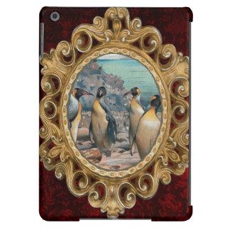 Vintage Penguin Herd iPad Air Cover