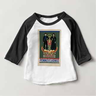 Vintage Pennsylvania Travel Baby T-Shirt