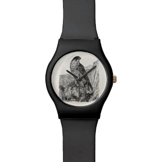 Vintage Peregrine Falcon Personalized Retro Birds Watch