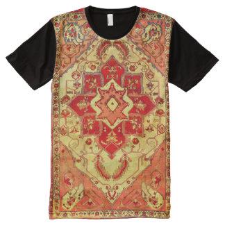 Vintage Persian Oriental Rug Carpet Print T-Shirt