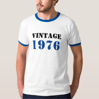 Vintage Personalized Birth Year Commemorative T-Shirt