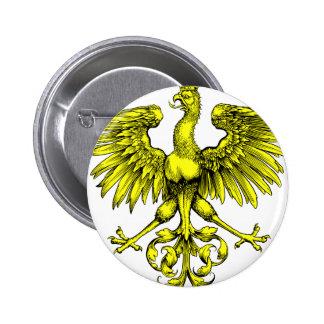 Vintage Phoenix 6 Cm Round Badge