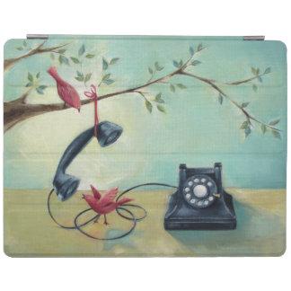 Vintage Phone & Birds iPad Smart Cover iPad Cover