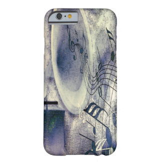 Vintage Phonograph and Music Barely There iPhone 6 Case