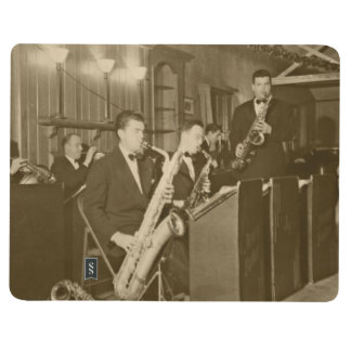 Vintage Photo Big Band Sax Journal