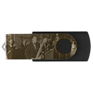 Vintage Photo Big Band Sax USB Flash Drive