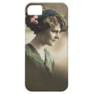 Vintage photo of lady from 1920's iPhone 5 cases