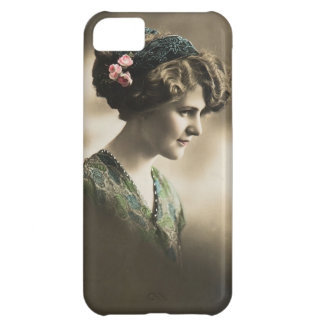 Vintage photo of lady from 1920's iPhone 5C cases