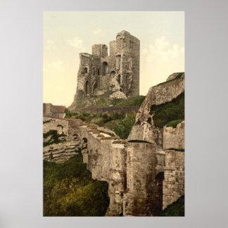 Vintage Photo-Print of Scarborough Castle (1900) Poster