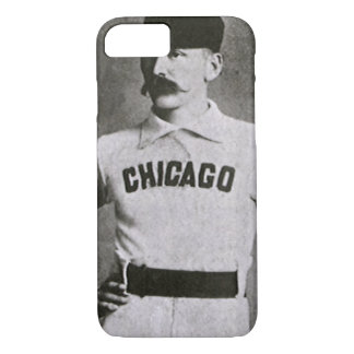 Vintage Photo, Sports Chicago Baseball Player iPhone 8/7 Case