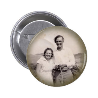 Vintage Photograph Button