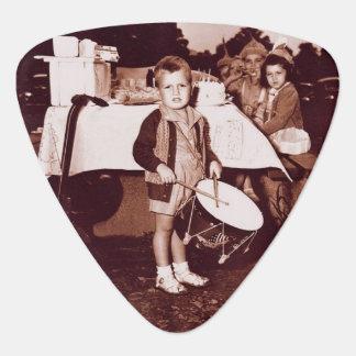 Vintage Photograph Drummer Boy c 1930s Guitar Pick