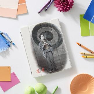 Vintage Photograph:  Geisha Girl iPad Cover