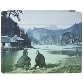 Vintage Photograph:  Rare Japanese Village iPad Cover