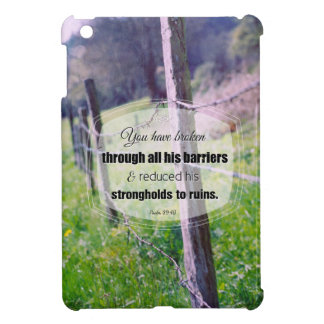 Vintage photography psalm 89:40 case for the iPad mini