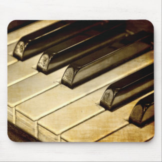 Vintage Piano Keys Mousepad