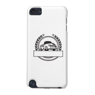 Vintage Pick Up Truck Black and White Retro iPod Touch 5G Covers