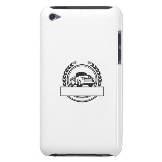 Vintage Pick Up Truck Black and White Retro iPod Touch Case-Mate Case